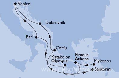 Okruh perly čierneho mora – taliansko, turecko, ukrajina, grécko