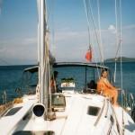 jachting na Lefkáde