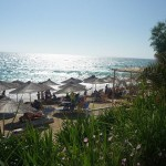 pláž Vrachos na pevnine2