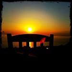zapad slnka z taverny